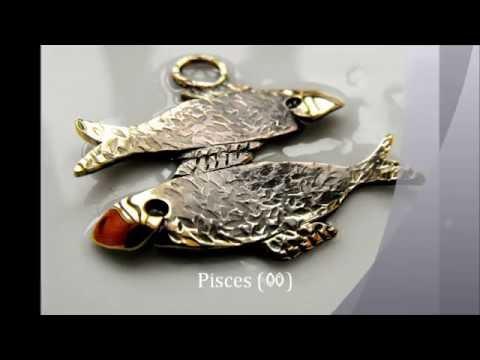 Zodiac keychain (viki halfan - jewellery studio)