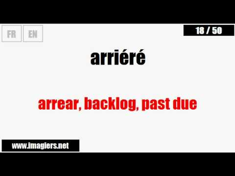 [French vocabulary] Business French #5