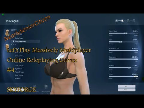 SKYFORGE : Let's Play Massively Multiplayer Online Roleplaying Games #4