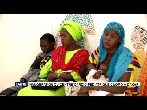 HealthSanté : inauguration du Centre Cardio-Pédiatrique Cuomo à Dakar