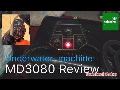 Ⓜ️ Md3080 under water metal detector review