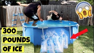 JUMPING INTO A POOL FILLED WITH 300 POUNDS OF ICE! SEND ME ANYTHING!PO BOX 41914HOUSTON TX 77241MAIN CHANNEL:https://www.youtube.com/c/ceetv91NEWEST MAIN CHANNEL VIDEO:https://www.youtube.com/watch?v=R6qVNzzrjEs&t=79sFacebook: CEETV91Instagram: @CEETV91Snapchat: cesartomas91Twitter: @CEETV91THANK YOU FOR WATCHING. PLEASE LIKE, COMMENT & SUBSCRIBE FOR DAILY VIDEOS.