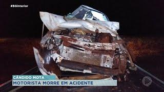 Homem de 35 anos morre em acidente na rodovia em Cândido Mota