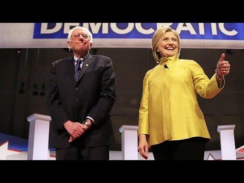 Συνάντηση Κλίντον-Σάντερς με στόχο την ενότητα των Δημοκρατικών