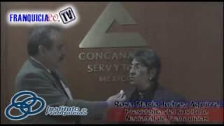 Entrevista de Franquicialo.tv a C.P. Rosa María Juárez Aguirre, Presidenta del Instituto Nacional de Franquicias