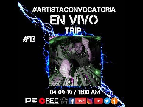 Frases celebres - Dj Trip - Artista Convocatoria #13 - DNB / Rave - 04/09/19