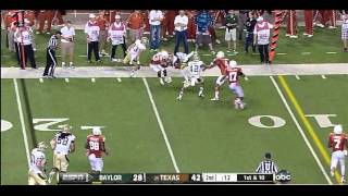 Kenny Vaccaro vs Baylor (2012)
