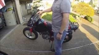 8. 1989 Yamaha TW200 (For Sale)