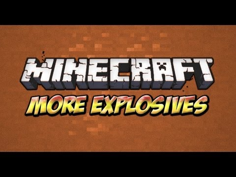 explosives - This mod adds Missiles, Landmines, Det Cord, Fire Works, C4 and Nuclear Explosives, Time Bombs, Smoke Grenades, bombs and more!!!. Please Don't Forget To Sub...