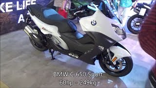 10. BMW C 650 Sport scooter (2017)