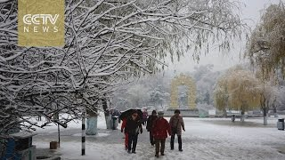 Zhangjiakou China  city photo : China cold weather: Snow covers northern China's Zhangjiakou