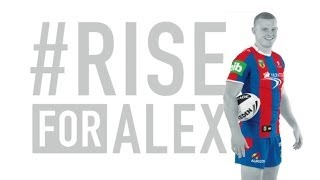 Alex McKinnon says the RISEFORALEX campaign for round 19 is overwhelming