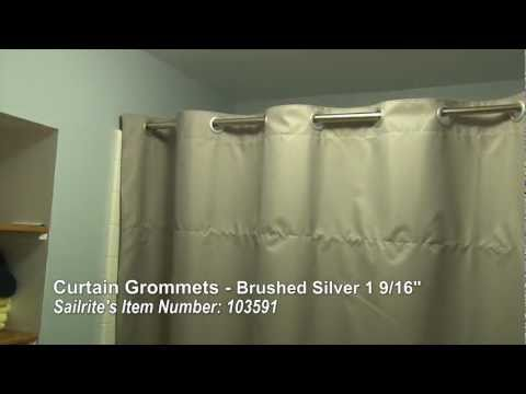 How To Install Grommets On Curtains King Size Bed Canopy Curtains