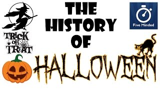 """The History of HalloweenHalloween falls on the October 31st each year in Britain, North America and other parts of  the  worldLike many other holidays, Halloween has evolved and changed throughout history and is a mix of Pagan and Christian Tradition. See the full transcript at http://fiveminded.comHalloween for Kids BOOK: http://amzn.to/2ldCWfRWhiteboard Software I use to make my Videos: http://www.sparkol.com?aid=983244Facebook: https://www.facebook.com/5ivemindedTwitter: https://twitter.com/fiveminded-~-~~-~~~-~~-~-Please watch: """"The History of Earth Day - Animated Narration for Kids"""" https://www.youtube.com/watch?v=b6LUaGy1ChA-~-~~-~~~-~~-~-"""