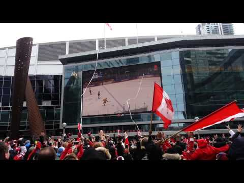 Maple Leaf Square – 2014 Olympics Gold Medal Men's Hockey Game