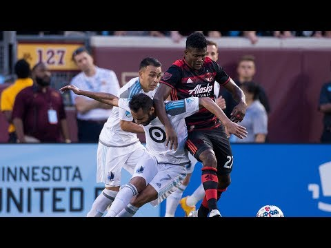 Video: MATCH HIGHLIGHTS | Minnesota United FC 3, Portland Timbers 2