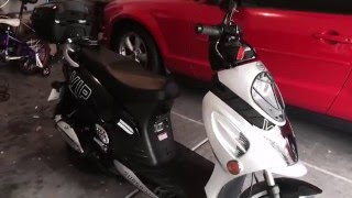 3. Tao Tao VIP 50cc Scooter Experience day 2