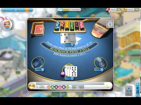 myVegas BlackJack Game Challenge: Win 50 Times Minimum Bet
