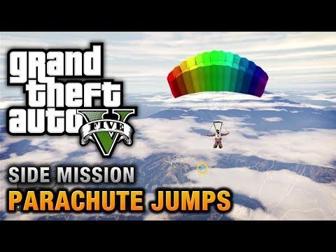 comment prendre le parachute gta v