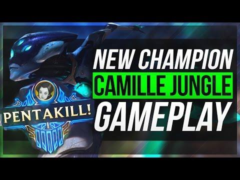 Camille đi rừng với Pentakills đầu tiên