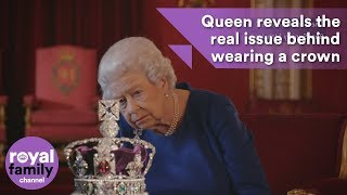 Video Queen reveals the real issue behind wearing a crown MP3, 3GP, MP4, WEBM, AVI, FLV Januari 2018