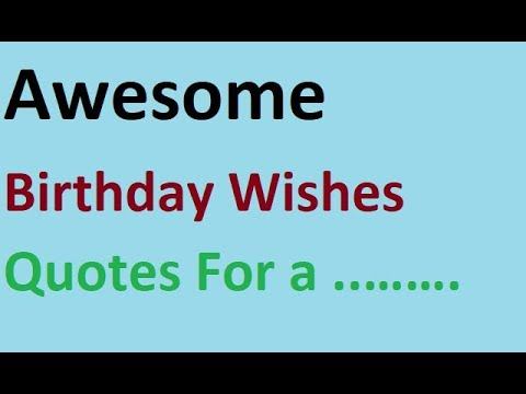 Birthday quotes - Birthday special Quotes  Whatsapp status Quotes