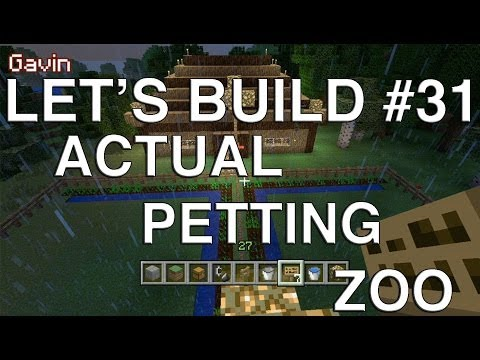 actual - Geoff, Gavin and Lindsay build for last week's Let's Play Minecraft