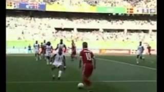 Denmark   Senegal 1 1 World Cup 2002