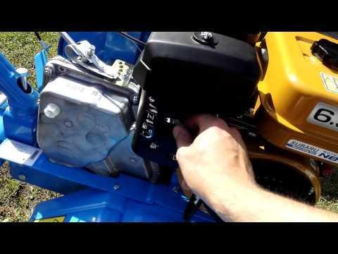 Замена масла на мотоблок нева с двигателем субару 7.5 л.с фотка