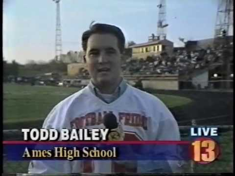1996.10.4 Channel 5, 8, 13 Sports News Dowling vs. Ames High School Football 1996