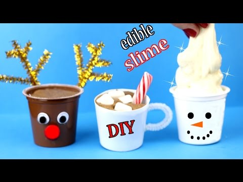 DIY Edible Slime! How To Make Chocolate Slime & More! Easy & Miniature! Cool DIY Crafts Tutorials! (видео)