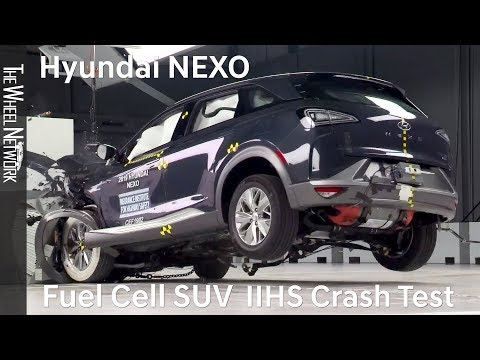 Hyundai NEXO Fuel Cell SUV Earns Top Safety Pick+ Award from Insurance Institute for Highway Safety