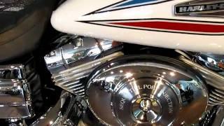 7. 2006 Harley-Davidson 35th Anniversary Dyna Super Glide FXDI35 Glacier White Pearl