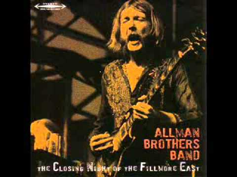 Allman Brothers Band – You Don't Love Me / Soul Serenade – Closing Night At The Fillmore (6/27/71)
