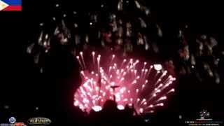 ᴴᴰ Philippines - The 5th Philippine International Pyromusical Competition (Closing Exhibition)