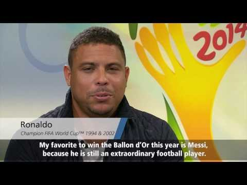 Ballon d'Or 2013 celebrity guesses Part 2