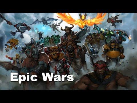 Epic Dota 2 Wars