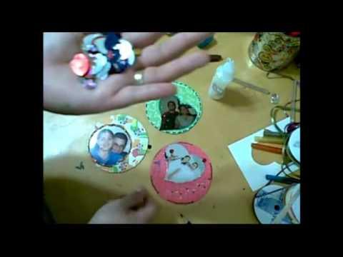 Discos para mis FotoRecuerdos / Recicla DVDs/CDs / Idea