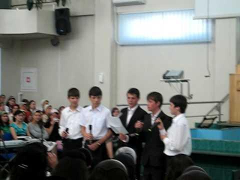 Grupul de tineri din Dumbraveni-Ierusalim