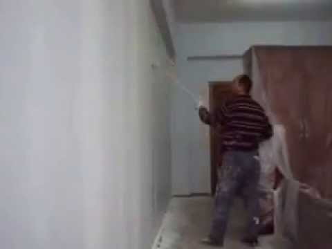 alçıpan duvar nasıl boyanır