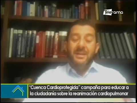Cuenca Cardioprotegida campaña para educar a la ciudadanía sobre la reanimación cardiopolmunar