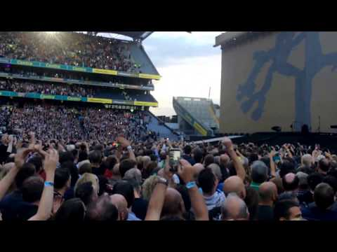 Intro U2 At Croke Park Dublin, 22-7-2017 (The Whole Of The Moon - The Waterboys)