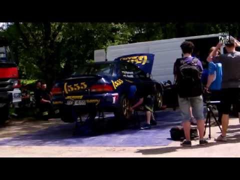 Krótki klip z dzisiejszych testów załogi Kluszczyński / Marschal - Subaru Impreza 555