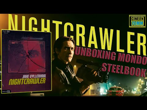 Nightcrawler Unboxing Steelbook Mondo Por Cine en 70MM ¡¡¡¡VIDEO 301!!!!!!