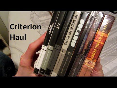 Criterion Blu-ray Unboxing
