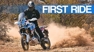 6. First Ride | Honda Africa Twin CRF1000L2 Adventure Sports