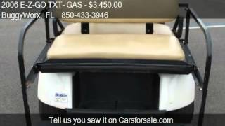 8. 2006 E-Z-GO TXT- GAS 4 Passenger - for sale in Pensacola, FL