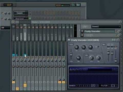 Vocoder - From http://www.warbeats.com : How to use the FL Studio Vocoder. FL Studio Tutorial, FL Studio Help, Fruity Loops Tutorial, Fruity Loops Help.