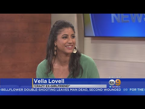 'Crazy Ex-Girlfriend' Actress Vella Lovell Appears On KCAL9 To Discuss Role