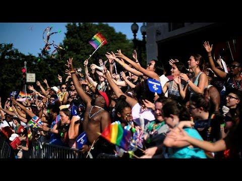 ΗΠΑ: Συγκέντρωση για τα δικαιώματα των ομοφυλοφίλων